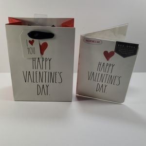 Rae Dunn Valentine's Day Gift bag & Card